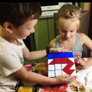 Кубики «Сложи узор».